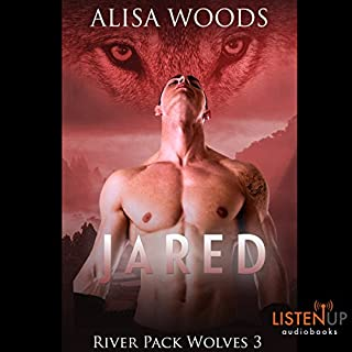 Jared     River Pack Wolves, Book 3              By:                                                                                                                                 Alisa Woods                               Narrated by:                                                                                                                                 Morais Almeida,                                                                                        Brian Hatch                      Length: 6 hrs and 29 mins     8 ratings     Overall 4.8