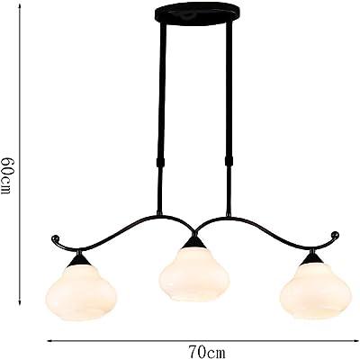 AMOS 3 Kronleuchter Restaurant Bar Kronleuchter Jane Europäische Eisen Pastoral Nordic Beleuchtung Lampen
