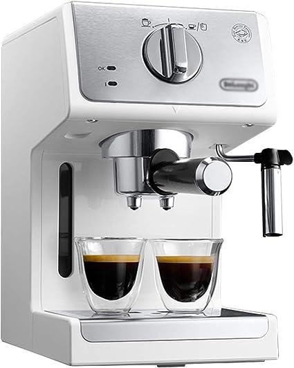 Macchina Da Caffe Con Filtro Macchina Da Caffe For Ufficio Mini Macchina Da Caffe For Uso Domestico Schiuma Di Latte A Vapore Con Fiori Di Trazione Color Silver Size 18 5