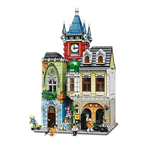 hsj Bausteine Baustein-Spielzeug Mini-Bausteine Set Kinder Gebäude Bildung DIY Spielzeug-Geschenk-Kind-Geburtstag-Geschenk Exquisite Verarbeitung