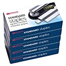 Officemate Standard Staples, 5 Boxes General Purpose Staple (91925)
