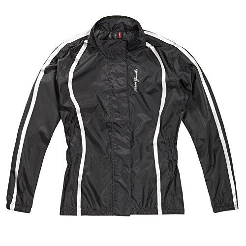 Hein Gericke Elena Damen Regenjacke schwarz M - Motorrad Regenbekleidung