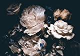 AMAZING WALL Peel and Stick Large Wallpaper Floral Self Adhesive Bedroom 360cm
