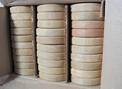 Holzhandel-OWL Zaunlatten Holzzaun Sibirische Lärche 2x9x80 cm 30 Stück