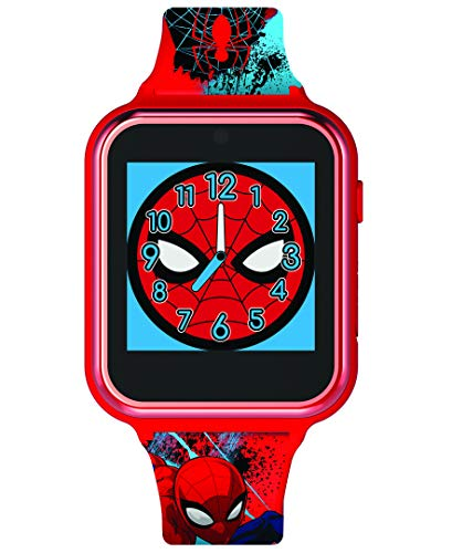 Spiderman Unisex Kinder Digital Uhr mit Silikon Armband SPD4588
