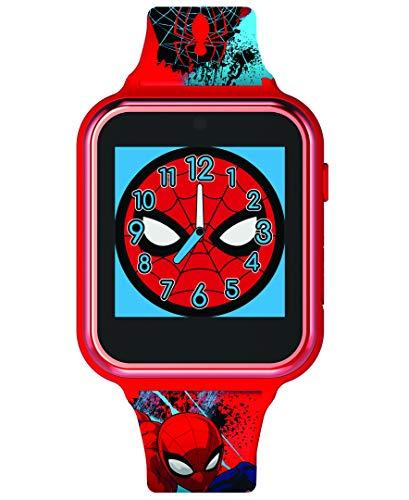 Spiderman Unisexe Enfants Digital Montre avec Bracelet en Silicone SPD4588