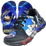Tênis Infantil Led Sonic Personagem + Chinelo (28)
