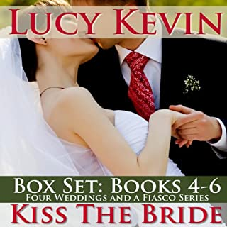 Kiss the Bride     The Wedding Dress\The Wedding Kiss\Sparks Fly              By:                                                                                                                                 Lucy Kevin                               Narrated by:                                                                                                                                 Eva Kaminsky                      Length: 10 hrs and 20 mins     80 ratings     Overall 4.2