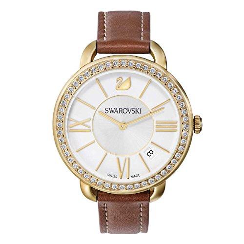 Swarovski Reloj Aila Day marrón tono oro amarillo
