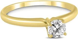 yellow gold diamond wishbone ring