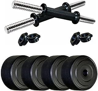 SPORTO FITNESS Home Gym Set 4 kg Dumbbell Set