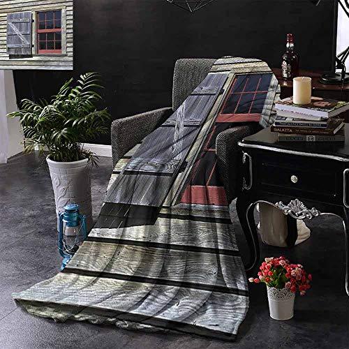 GGACEN bont gooien deken Italiaanse stijl venster rolluiken met gesneden hart afbeelding Vintage Boheemse Print Omkeerbare zachte stof voor bank bank bank gemakkelijk zorg