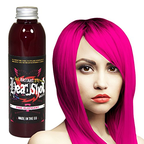 Pinke Haarfarbe Headshot Pink Elephant, Semi-permanente Haartönung 150 ml