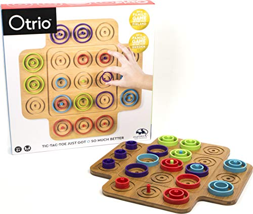 Spin Master Games Otrio 6045064 Tactical Game with High-Quality Playing Material (Instructions in German)