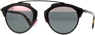 New Christian Dior SO REAL NT1/ZJ Shiny Black Havana/Green Pink Sunglasses