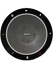 スピーカーフォン 会議用 マイクスピーカー 高音質 ワイヤレススピーカーフォン Bluetooth5.0 全方位収音 各通話アプリ対応 マイクロホンPC USBミーティング 小規模会議用 CP910 携帯用