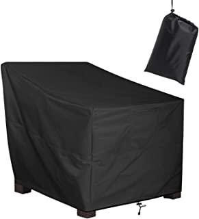 """ALSTER Patio Chair Cover Deep Seated, Heavy Duty and Waterproof Outdoor Lawn Furniture Covers,40"""" D33 H35 W"""