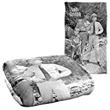 Trevco Andy Griffith Lawmen Silky Touch Super Soft Throw Blanket 36' x 58'