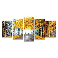 High Definition modern canvas printing artwork, pictures photos printed on high quality canvas.A perfect gift for your relatives and friends. Stretched and Framed canvas art prints ready to hang for home decorations wall decor. Each panel has a black...