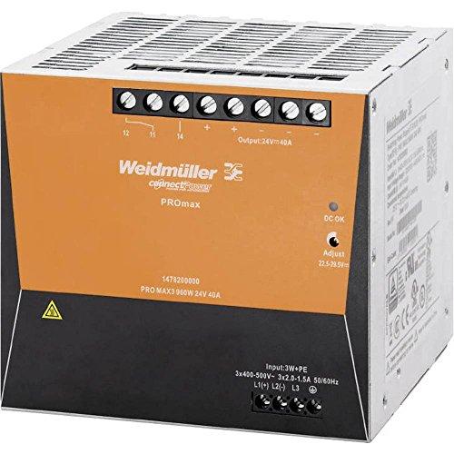 Weidmuller 1478200000 - Fuente alimentación pro max3 960w 24v 40a