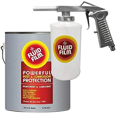 Fluid Film Rust & Corrosion Protection,Penetrant & Lubricant Kit Bundled Spray Gun