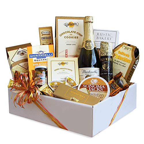 California Delicious Golden State Gourmet Foods Gift Basket, 8 pound