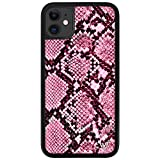 Wildflower Limited Edition Cases Compatible with iPhone 11 (Pink Snake)