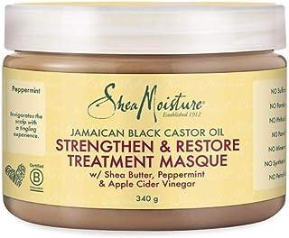 Shea Humedad jamaicana Negro Aceite de ricino Fortalecer/