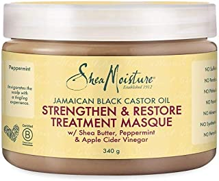 Shea Moisture Jamaican Black Castor Oil Strengthen/Grow and Restore Treatment Masque 326 ml