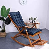 ZTMN Sofa Patio Chairs Thickness Seat Lounge Chair Outdoor Deck Chairs Garden rocking Deck chair For Beach Camping Support (Lattice,48 * 120)