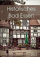 Historisches Bad Essen (Wandkalender 2022 DIN A2 hoch): Ein Ort mit zahlreichen Fackwerkhaeusern (Monatskalender, 14 Seiten )