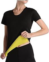 Dames en heren Afslanken Vestlassen Gewichtsverlies Sauna Thermo Tank Top Fitness Neopreen Shirt Sweatage Effect Body Shaper