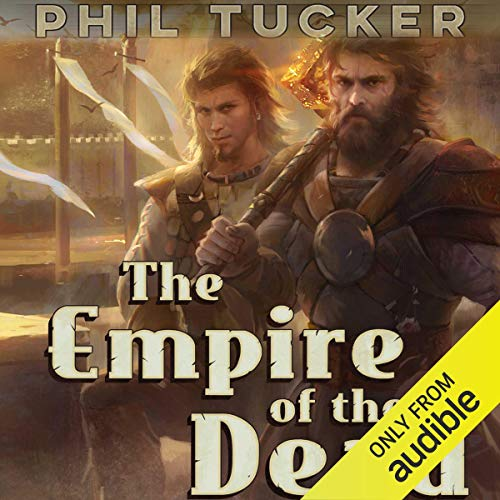 The Empire of the Dead audiobook cover art
