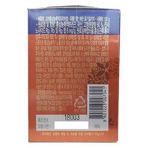 高麗人参一和高麗紅参濃縮液6年根紅参精エキス100g1本(100g)[並行輸入品]