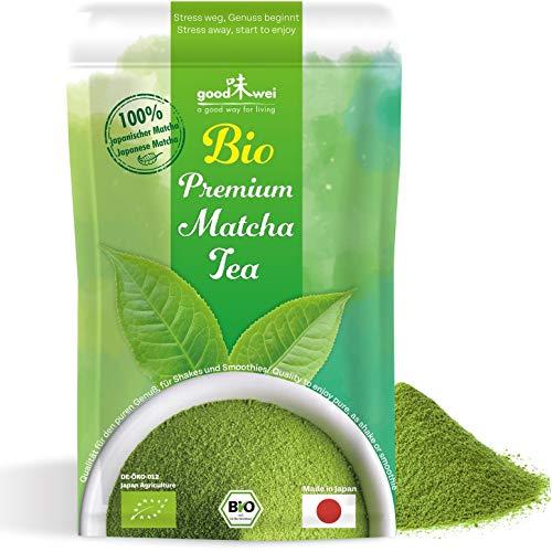Origine Japon - Thé vert Matcha 100% organique - qualité optimale (50g)
