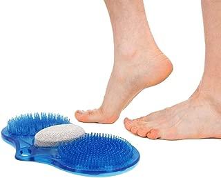Bathroom Mats Foot Massager -Vovomay Bathroom Foot Brush Peeled Pumice Wipe