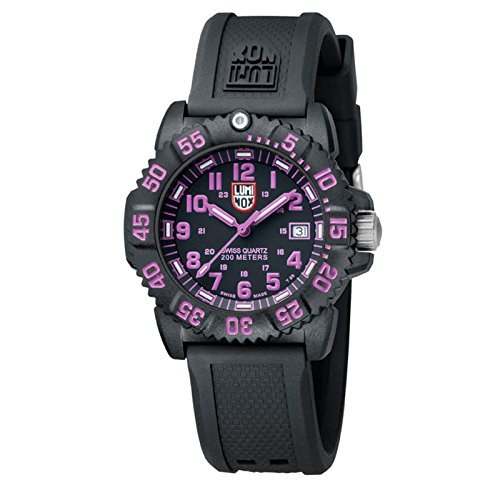 lumi-nox a.70607060–Armbanduhr Herren, Kautschukband schwarz