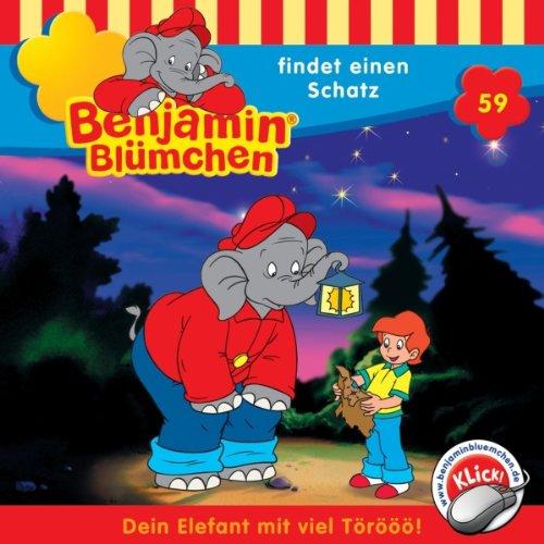 Benjamin findet einen Schatz Titelbild