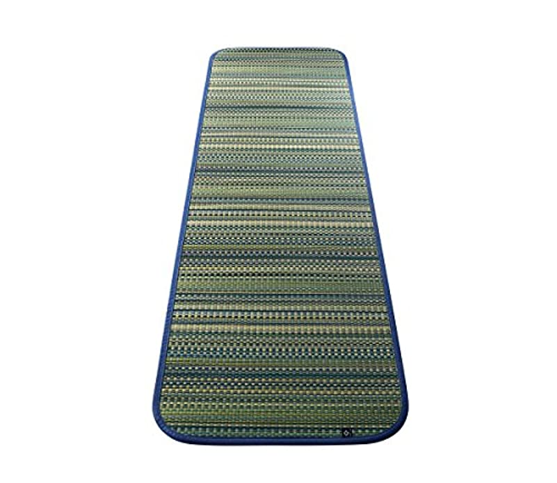 平和的同化する物思いにふけるTATAMI い草/畳ヨガマット60×180cm (デイズ)ブルー【AC090013】