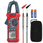 AstroAI Digital Clamp Meter Multimeter 2000 Counts Amp Voltage Tester Auto-ranging with AC/DC Voltage, AC Current, Resistance, Capacitance, Continuity, Live Wire Test, Non-contact Voltage Detection