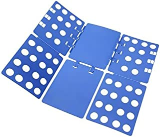 PetOde Shirt Tshirt Easy and Fast Clothes, Durable Plastic Laundry folders Folding Boards, Blue, New Version