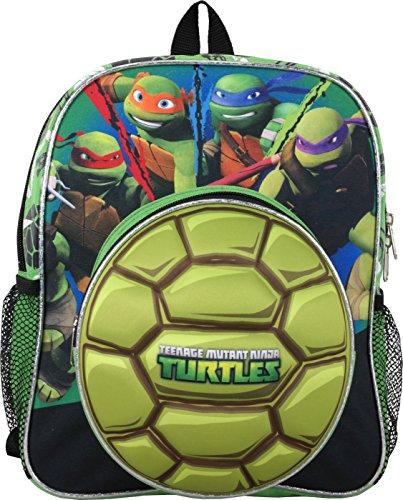 Ninja Turtle Teenage Mutant Raph Leo Mike Don 12 inches Toddler Backpack