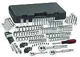 GEARWRENCH 165 Pc. 1/4', 3/8' & 1/2' Drive 6 Pt. Mechanics Tool Set, Standard & Deep, SAE/Metric - 80932