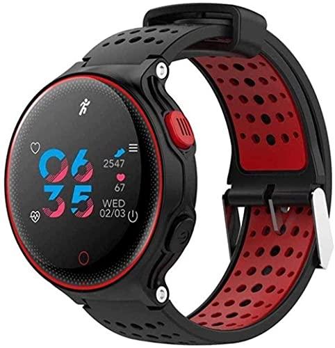 Reloj deportivo resistente al agua para hombres y mujeres y niños (color rojo) - rojo