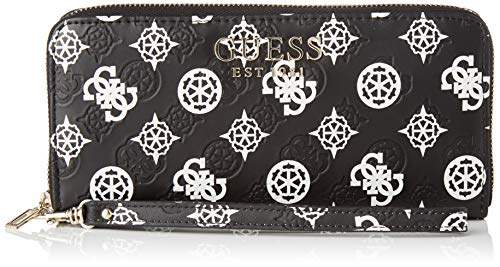 Guess Kamryn SLG Large Zip Around, Small Leather Goods Donna, Talla Única Size: Talla única