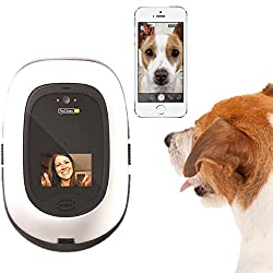 HD video pet treat camera