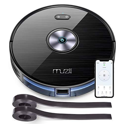 Aspirateur Robot, Muzili Aspirateur Puissant Wi-Fi Alexa...