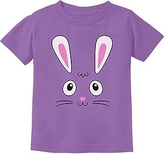 Tstars Little Easter Bunny Face Holiday Gift Cute Toddler Kids T-Shirt
