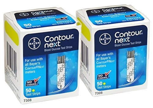 Bayer Contour Next, 100 Strips by Contour-Next