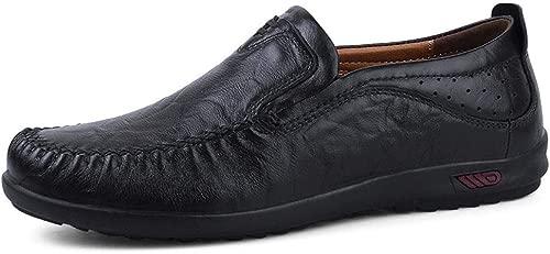 JPAKIOS Herrenschuhe Freizeitschuhe Handgefertigte Herren Papa Schuhe